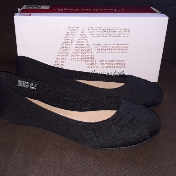 Womens Shoes Black Flats Size 2 Wide